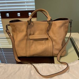 LONGCHAMP 3D top handle bag M tote EUC